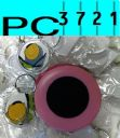 100 Blank Round Plastic Keyrings 34 mm Diameter Insert + Matching Photo Punch 9010PP